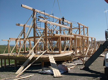 Post and Beam Timberframe Homes by Granby Post and Beam home