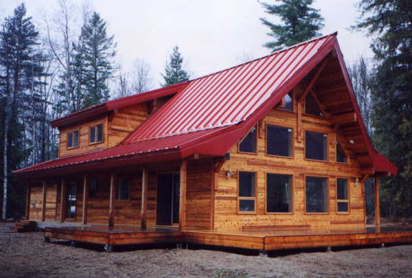 Granby post beam homes for Post frame homes plans