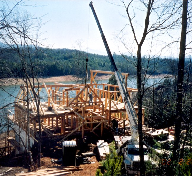 Contractors can instantly develop a whole new line of post and beam timberframe houses.