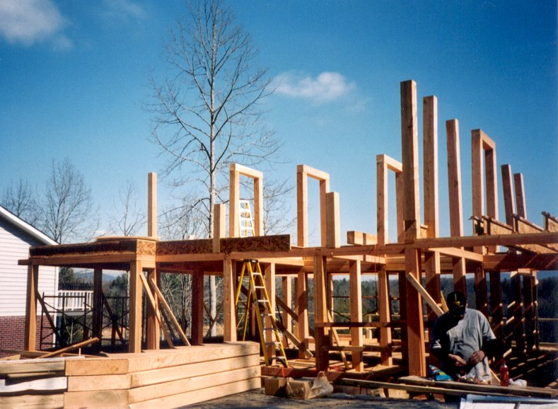 Contractors can instantly develop a whole new line of post and beam timber houses.